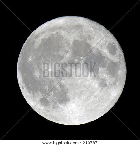 Detalhadas lua cheia