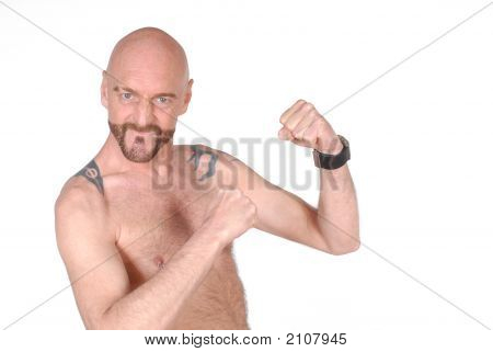 Middle Aged Man, Aggressive