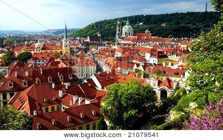 Prague - View Of The Historic City