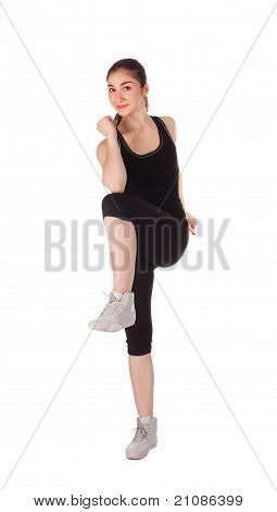 Fitness Frau
