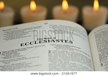 Bible, Book of Ecclesiastes