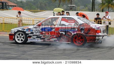 Formula Drift Singapore 2011 on Jun 12,2011