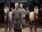 pic of qin dynasty  - Terracotta Warriors and Horses of the Qin Dynasty - JPG