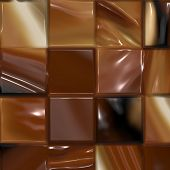 Chocolate Squares poster