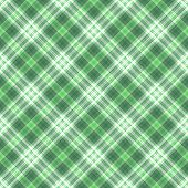 Green Plaid Illustration