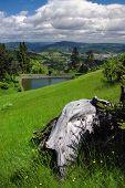 image of banska  - Lake Ottergrund in Banska Stiavnica - JPG