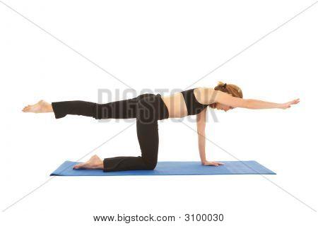 Serie de ejercicio de Pilates