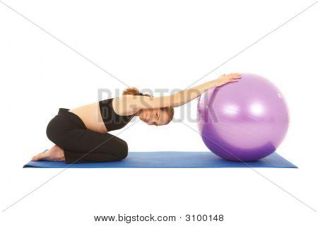 Pilates Übung Serie