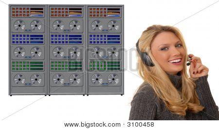 Girl And Mainframe