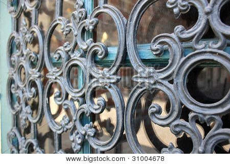 French Quarter Wrought Iron