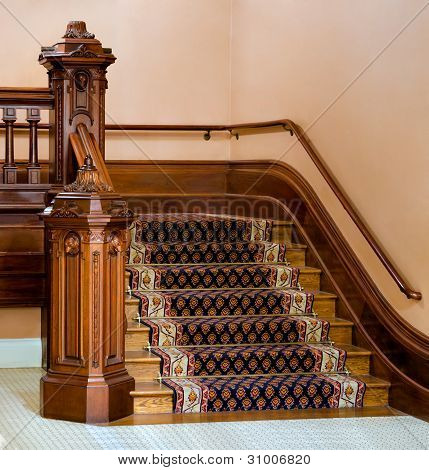 Vintage Staircase
