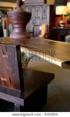 Rustic Handmade Table From Korea