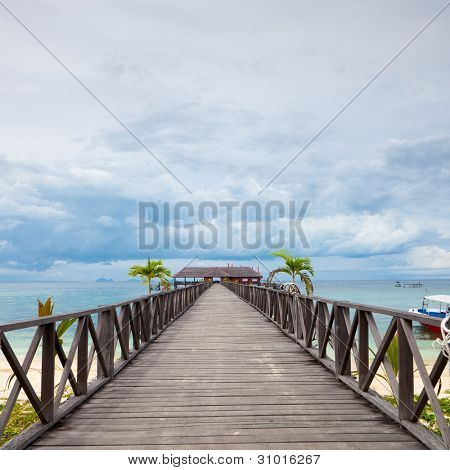Serenity Boardwalk  at tropical island