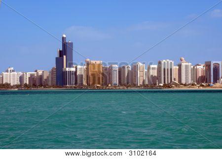 Panoramic View Of Abu Dhabi