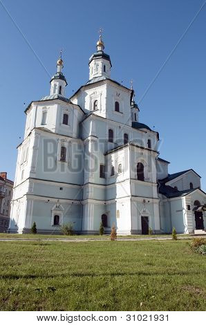 Ukrainian Cathedral Church in city of Sumy