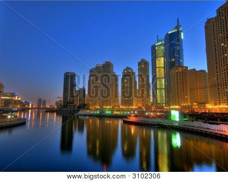 Charming Night In Dubai