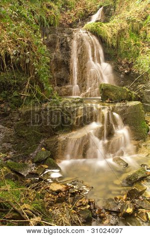 A Waterfall At Digley Reservoir