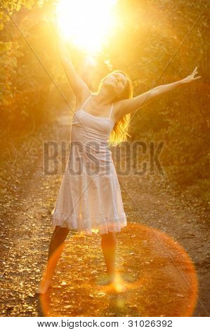 Blissful sunshine