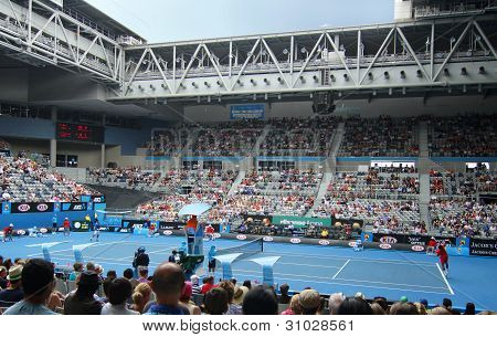Professional Tennis At The 2012 Australian Open