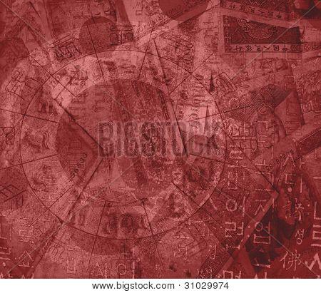 Chinese Zodiac, Money Mixed Background
