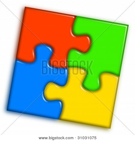 Combined Multi-color Puzzle