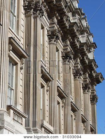 Fachada de edificio de Whitehall
