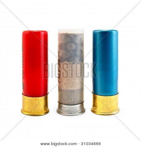 Three Multi-colored Cartridge