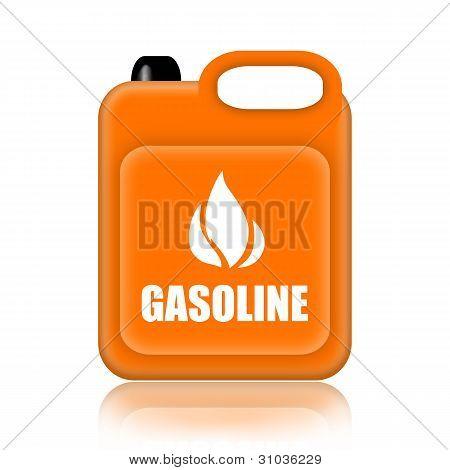 Gasoline jerrycan