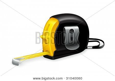 Tape measure, vector