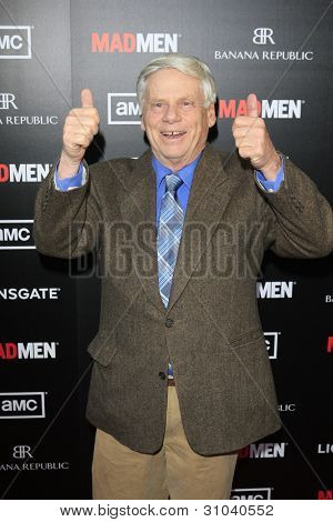 "LOS ANGELES - MAR 14:  Robert Morse arrives at the ""Mad Men"" Season 5 Premiere Screening at the ArcLight Theaters on March 14, 2012 in Los Angeles, CA"