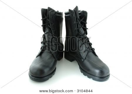 Two Army Boots.