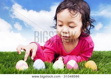 Learn To Count Easter Eggs