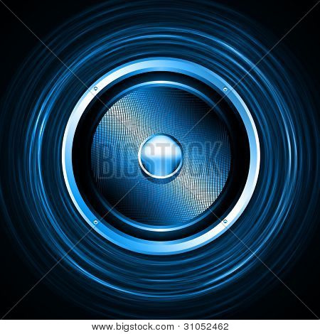 Music Design Concept - Abstract Vector Background
