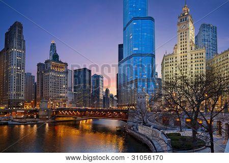 Chicago ribeirinha.
