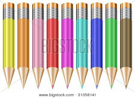 Colorful Pastel Pencils