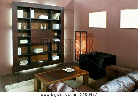 Brown Living Area
