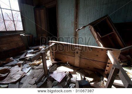 Furniture Trashed