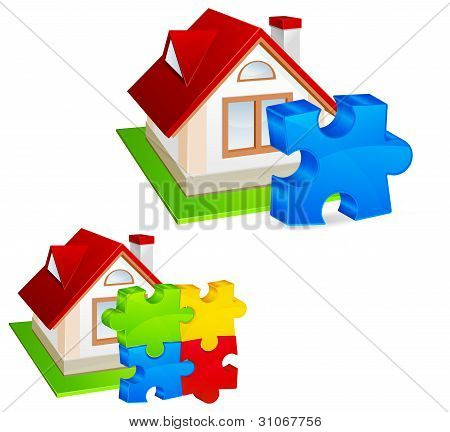 House With Puzzles
