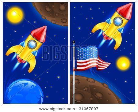 American Retro Rocket