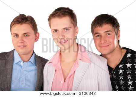 Portrait Of Three Friends