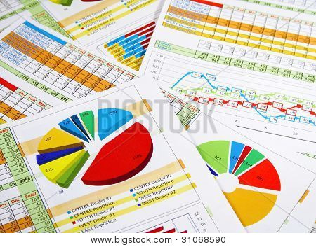 Annual Report in Graphs and Diagrams