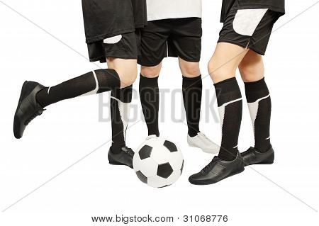 Feet  With Ball