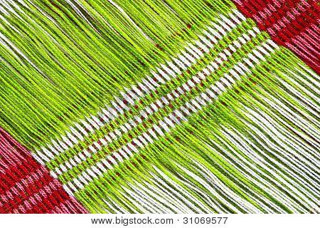Fondo multicolor de tela