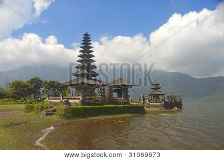The Temple On A Mountain Lake