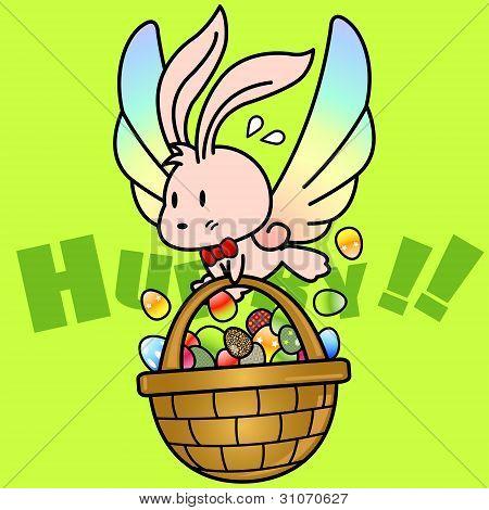 Hurry Easter Rabbit