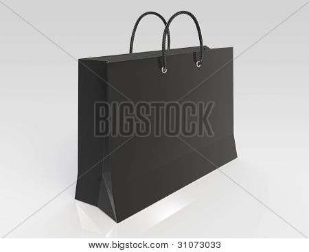 Black Shopping Bag