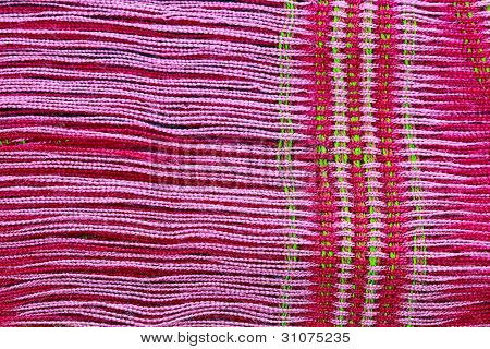 Fabric red background
