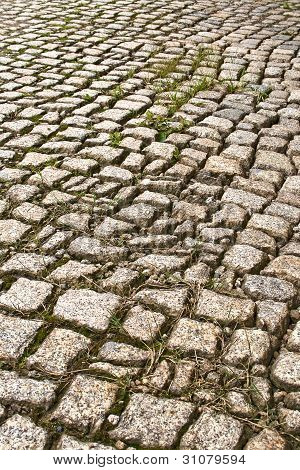 Old paving-stones
