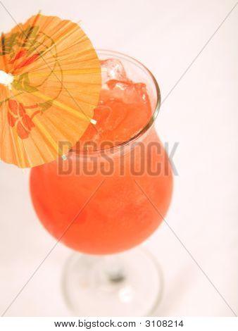 Mai Tai Cocktail On White Table