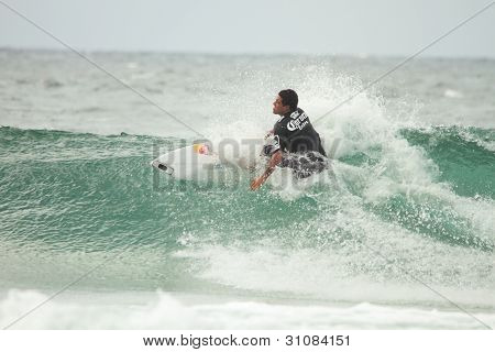 Coolangatta, Australia - Mar 03 : Quicksilver  Pro Asp World Tour, World Number 2 Adriano  De Souza,
